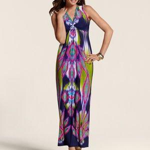 NEW CHICO'S MIXED GEO KATRINA DRESS Sz XL/16
